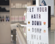 Let your hair down display