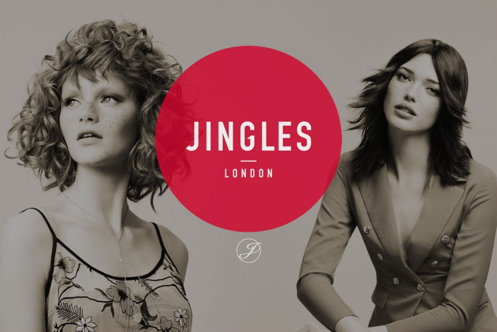 Jingles Of London Logo with background