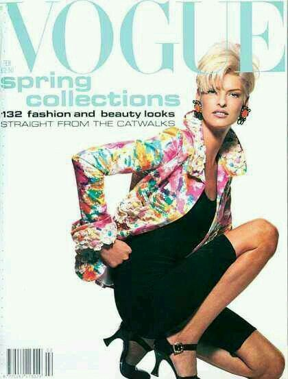 uk vogue 1991 cover